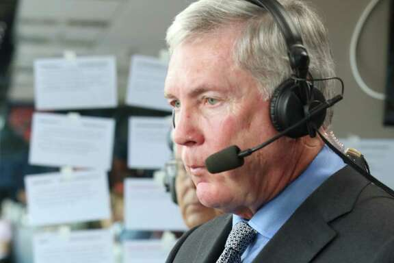 """Of his second career in television, former Texas coach Mack Brown says, """"ESPN and ABC are treating me well. I couldn't ask for anything better. It's been a great transition for me."""""""