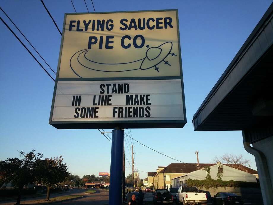 Houston's legendary Flying Saucer Pie Co. won't be open this Christmas, but locals can still buy holiday pies until the place sells out.>>Click to see holiday cream pie recipes.  Photo: Courtesy