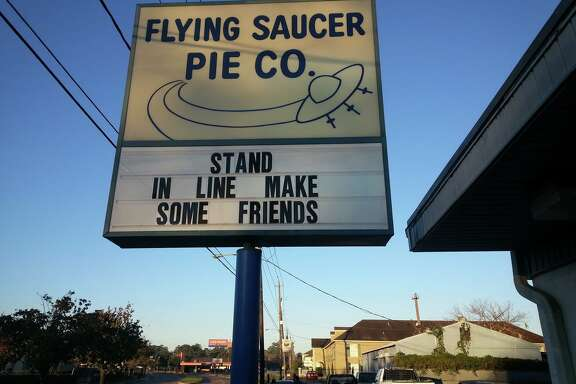 Houston's legendary Flying Saucer Pie Co. won't be open this Christmas, but locals can still buy holiday pies until the place sells out.