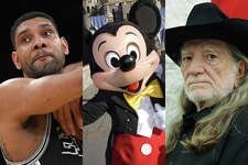Tim Duncan, Mickey Mouse and Willie Nelson were among those voted for president by write in votes in San Antonio.