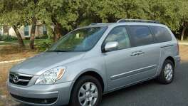 Hyundai's recall covers the Entourage minivan from the 2007 and 2008 model years. Hyundai says a secondary hood latch can rust and remain in the unlatched position. So if the primary latch is released, the secondary latch may not keep the hood in place.