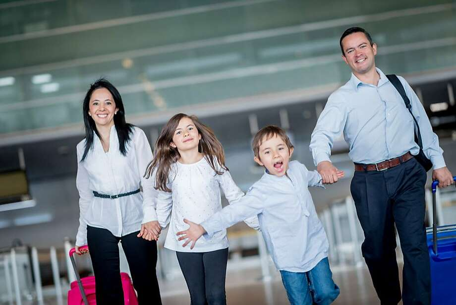 A family debates moving overseas. Photo: Andresr, Getty Images