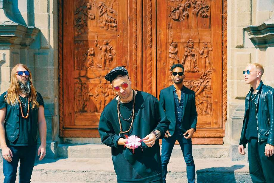 Unknown Mortal Orchestra is led by Ruban Nielson. Photo: Neil Krug