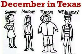 """#Texas #winter""    Source: Twitter"