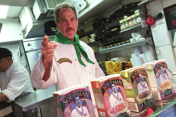 "Larry Thomas was a hit playing the character of the ""Soup Nazi"" on  ""Seinfeld,"" now he's the spokesman for  the Original Soupman company."