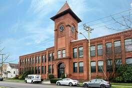 A historic hat factory building, recently renovated into condos at 25 Grand St., in Norwalk, Conn.