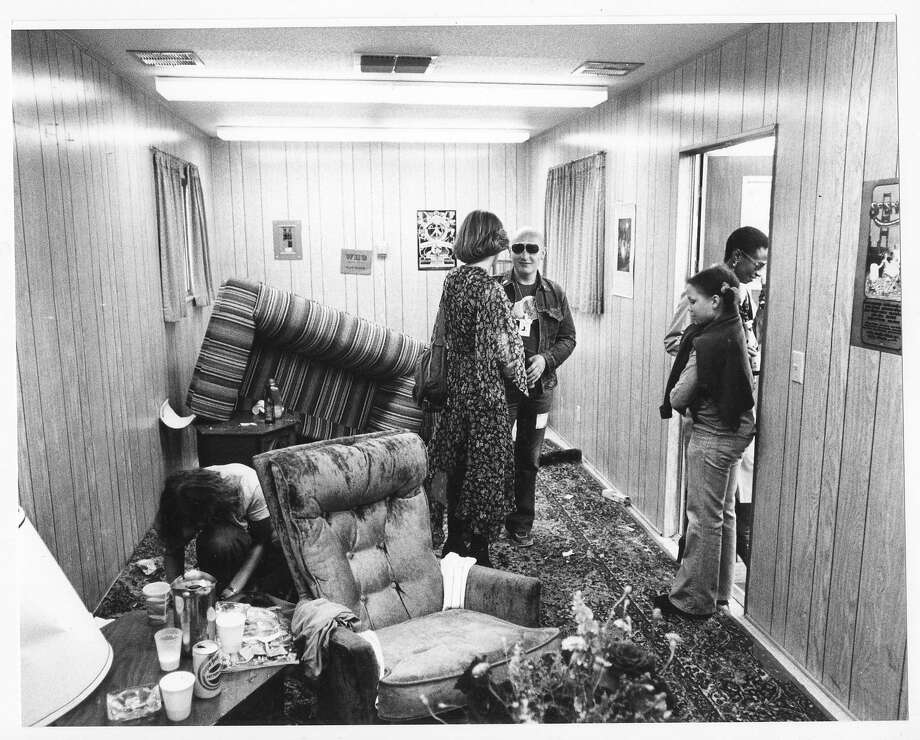 Michael Zagaris captures the trailer that was trashed by the Who's Keith Moon after Day on the Green. Photo: Michael Zagaris, Reel Art Press