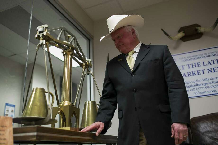 Texas Agriculture Comissioner Sid Miller is one of at least three Texans who made the short list for Donald Trump's pick as USDA secretary. Photo: Spencer Selvidge /For The San Antonio Express-News / Copyright 2016, Spencer Selvidge for the San Antonio Express-News.