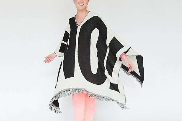 Here�s something many in San Francisco could have used the day  after November�s �presidential election: a striking protest  poncho that screams �No!� The reversible No-Thing can be worn to say �No!� or  �On!� depending on the wearer�s message and mood. $125, www.thethingquarterly.com or at The  Thing Quarterly, 447 O�Farrell St., S.F.
