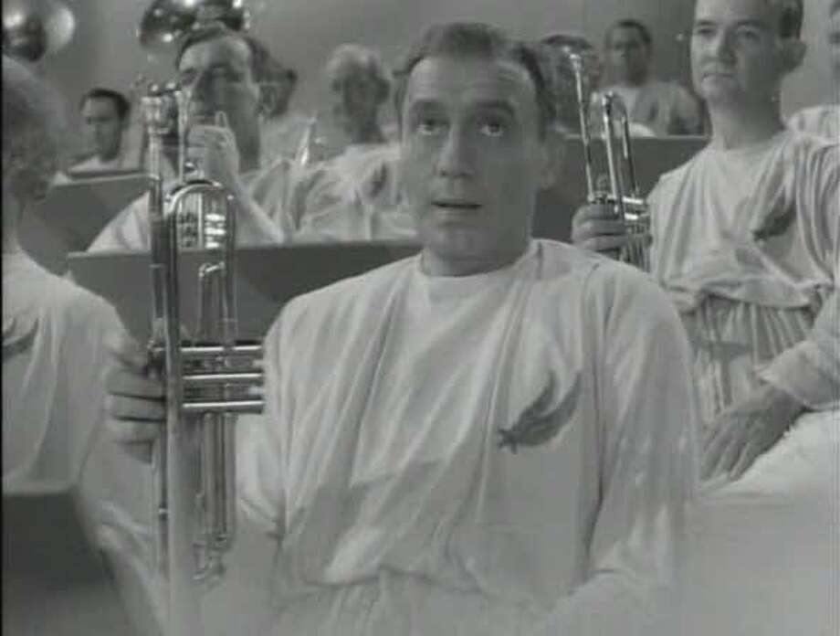 """Jack Benny in """"The Horn Blows at Midnight."""" Photo: Warner Bros. 1945"""