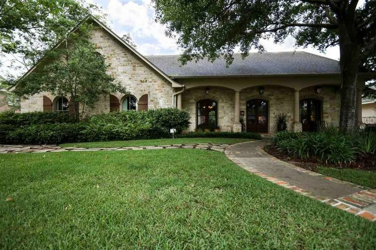 880 19TH ST., BEAUMONT, TEXAS 77706 $459,900 4 bedrooms; 3 full, 1 half bathrooms. 4,338 sq. ft., 0.32-acre lot. See the listing here.