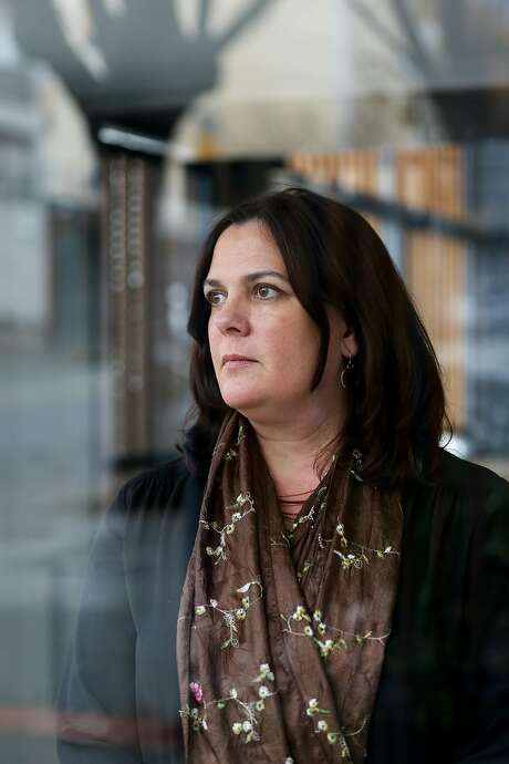 Corynne McSherry is legal director for the EFF. Photo: Amy Osborne, Special To The Chronicle