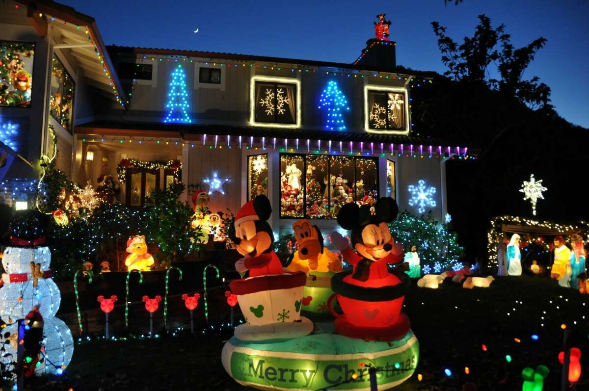 417 Blackstone Dr., San Rafael, Marin County, 94903 After 45 years, 2017 will be the final year Les and Patty Mize turn their house into an annual Christmas display. Dubbed