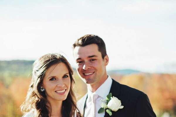 Samantha Getreuer daughter of Dr. and Mrs. Thomas Getreuer, Stamford CT, married Andrew Cotlov son of Mr. Jerry Cotlov and Ms. Linda Olson of Marlton, NJ on Oct. 15 in New Milford.