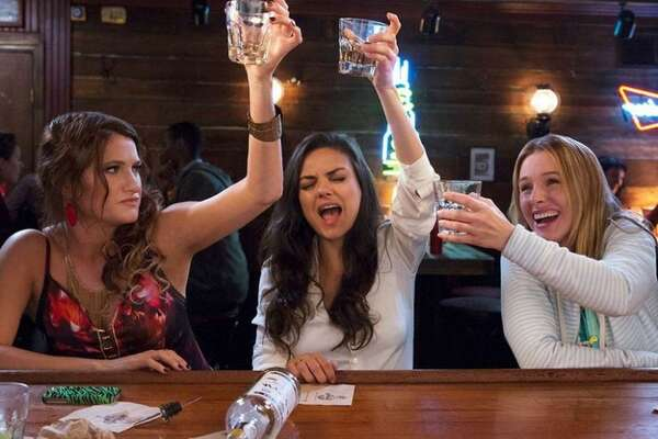 #66. Bad Moms   Smart Rating:  80.64   U.S. Box Office Gross:  $113,218,000  Release Date:  7/29/16  Starring:  Mila Kunis, Kristen Bell, Kathryn Hahn  Pushed beyond their limits, three overworked and stressed-out mothers (Mila Kunis, Kristen Bell, Kathryn Hahn) go wild after ditching their daily routines.