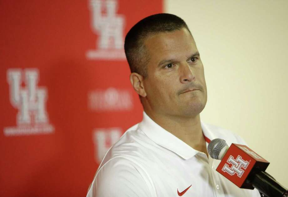 University of Houston interim football coach Todd Orlando speaks to the media Tuesday, Nov. 29, 2016, in Houston. ( Melissa Phillip / Houston Chronicle ) Photo: Melissa Phillip, Staff / Houston Chronicle / © 2016 Houston Chronicle