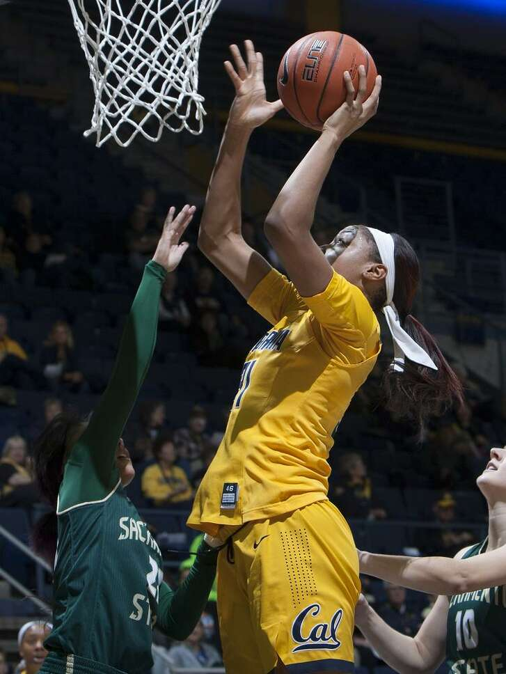 Kristine Anigwe made 19 of 23 field-goal attempts on her way to a Cal record 50 points Thursday.