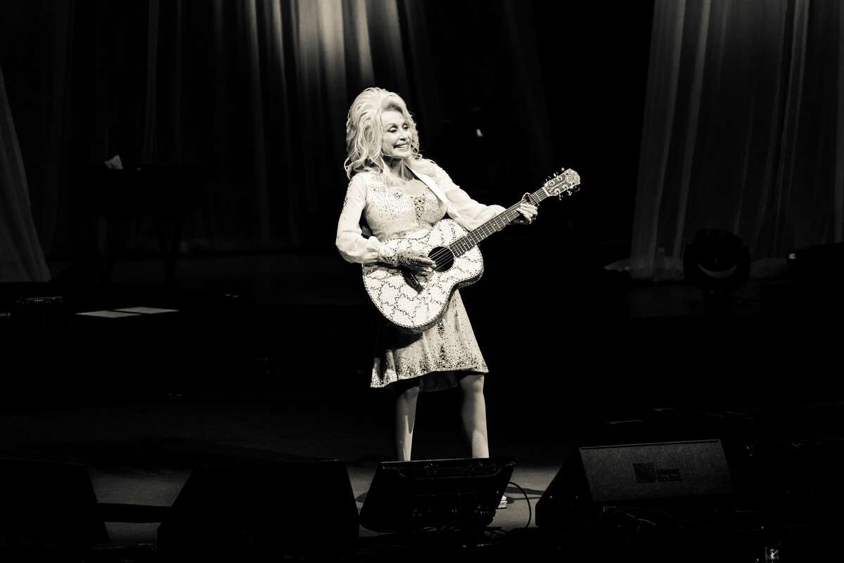 Dolly Parton performed in the Tobin Center Dec. 8, 2016.