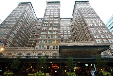 Image result for rice hotel building houston tx