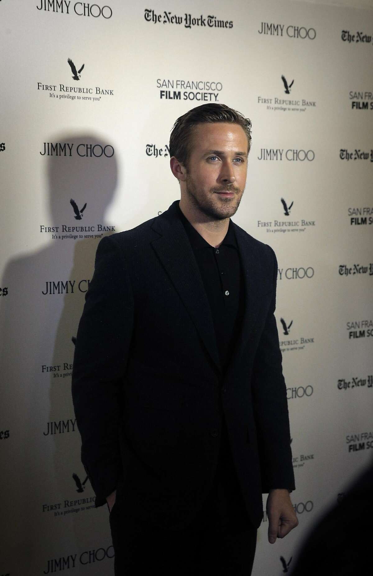 Actor Ryan Gosling walks the red carpet before a special screening of La La Land at the Castro Theater in San Francisco, Calif., on Thursday, December 8, 2016. The SF Film Society honored LaLa Land with a special screening at the Castro with director Damien Chazelle and stars Ryan Gosling and Emma Stone.