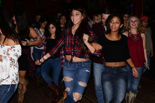 San Antonio hit the dancefloor at Wild West Thursday night, Dec. 9, 2016 for the Stone Oak-area venue's weekly Ladies' Night.