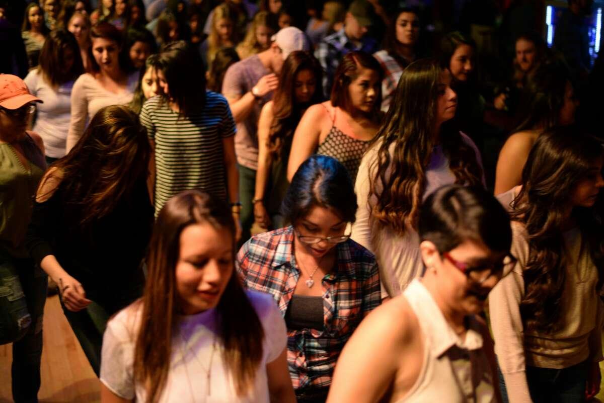 San Antonio hit the dancefloor at Wild West Thursday night, Dec. 9, 2016 for the Stone Oak-area venue's weekly Ladies' Night.