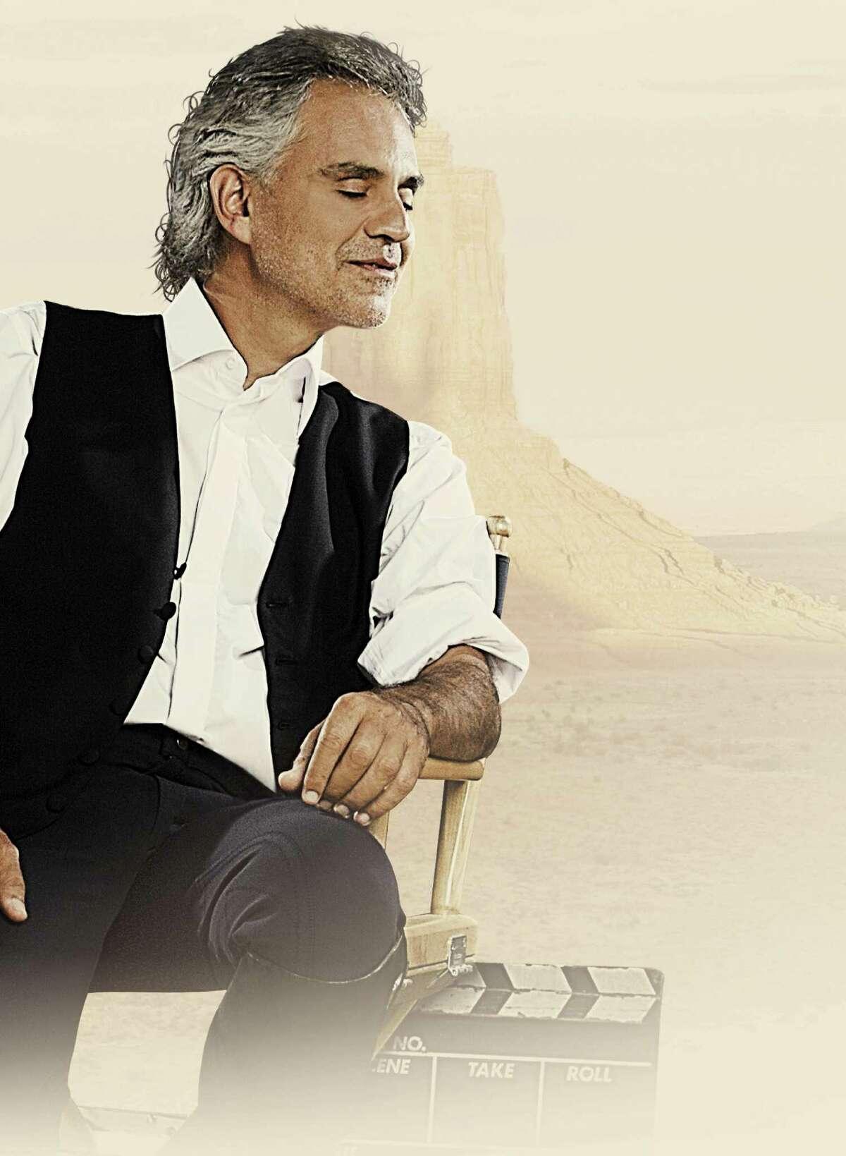 Andrea Bocelli image for his 2015 album,