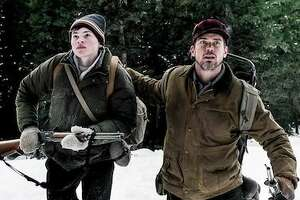 "Josh Wiggins (left) and Matt Bomer star in ""Walking Out,"" which screens at the Sundance Film Festival next year."