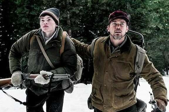 """Josh Wiggins (left) and Matt Bomer star in """"Walking Out,"""" which screens at the Sundance Film Festival next year."""