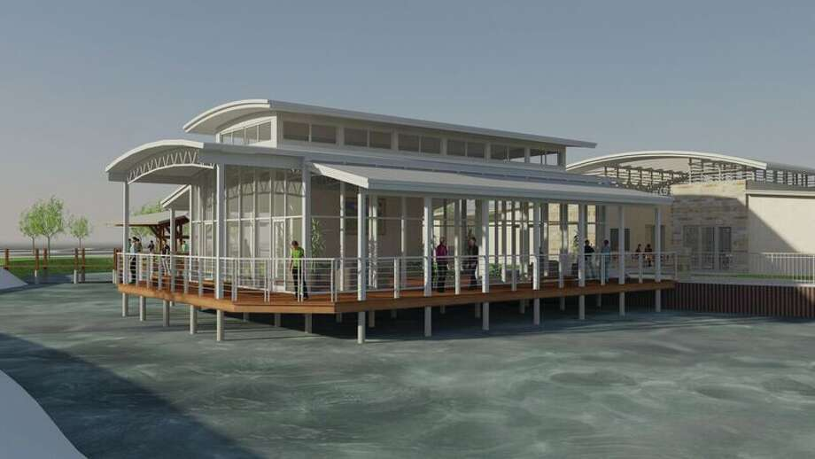 The Amenity Village at Meridiana will be home to a glass-enclosed conservatory set over the water and a fully customized, 40-foot Ambassador's Yacht.
