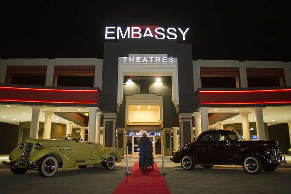 A VIP unveiling of the newly renovated Santikos Embassy Theater on Thursday