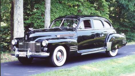 The 1941 Cadillac Model 63 had 57,000 miles on the odometer when Manning Clagett bought it.