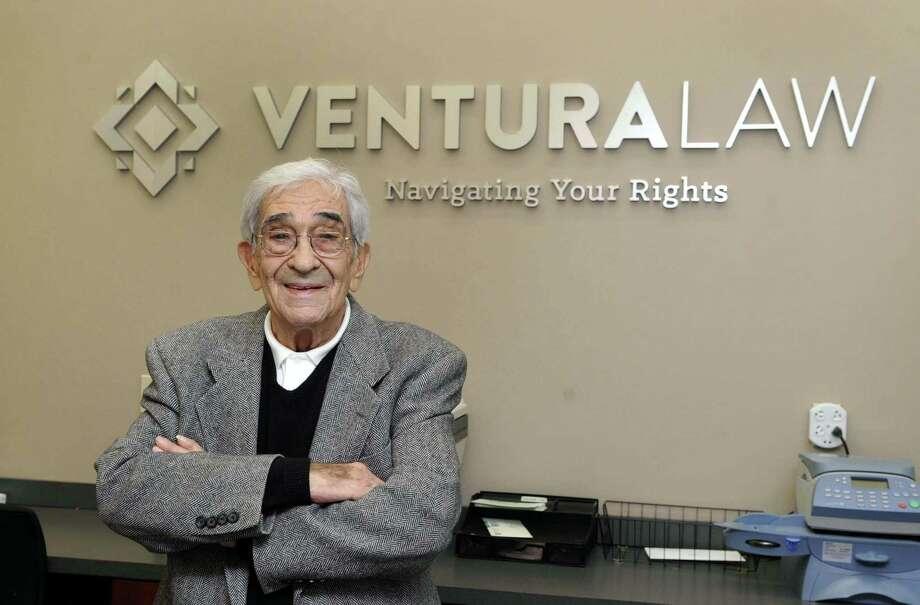 Americo S. Ventura, founding partner of a Danbury law firm, Monday, Dec. 5, 2016 Photo: Carol Kaliff / Hearst Connecticut Media / The News-Times