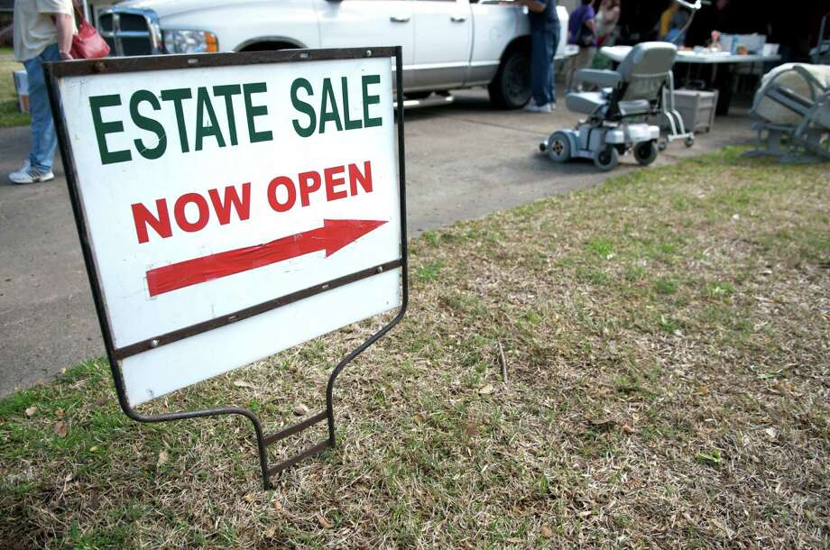 Professional estate sale operators liquidate property from a home by placing it up for public sale. Photo: Dlewis33 / dlewis33