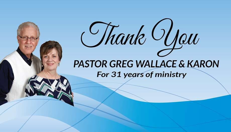 The church hosted a special retirement celebration for Woodridge Baptist Church's Senior Pastor Greg Wallace and his wife, Karon, Sunday, Dec. 4 where church members could share stories about Wallace and his impact on their lives. Photo: Submitted