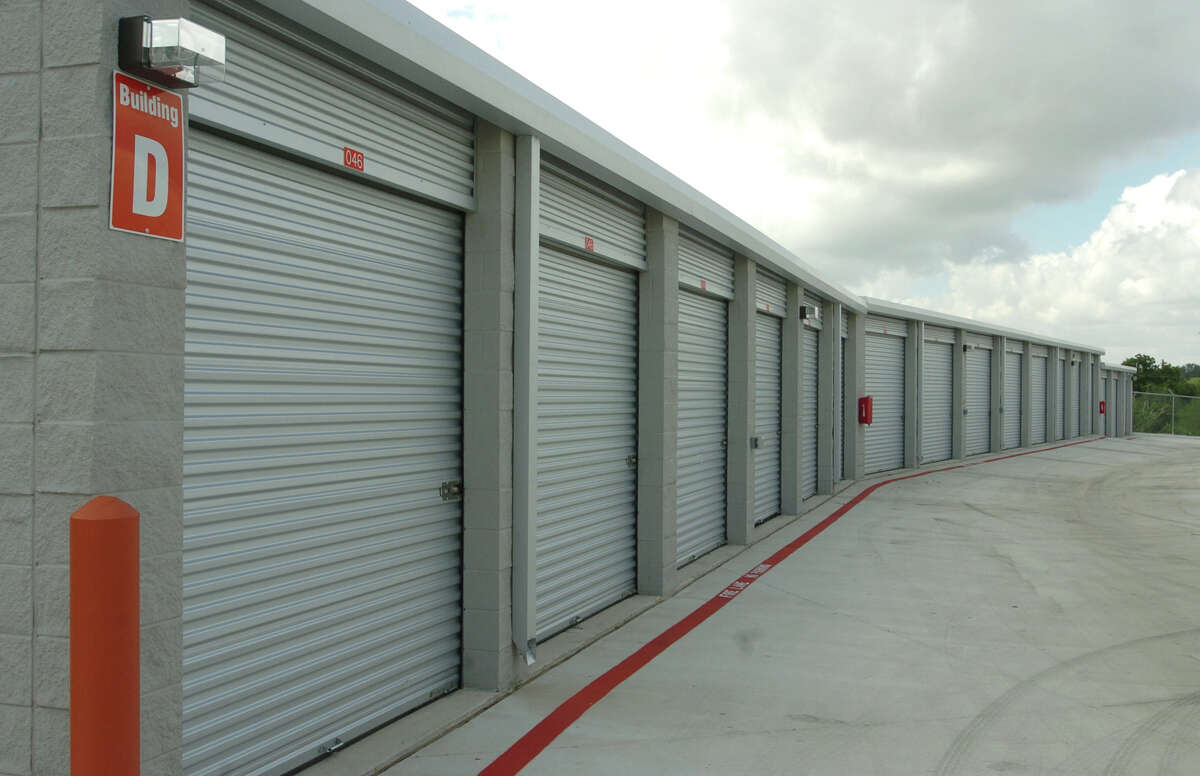 A self storage facility in Texas.