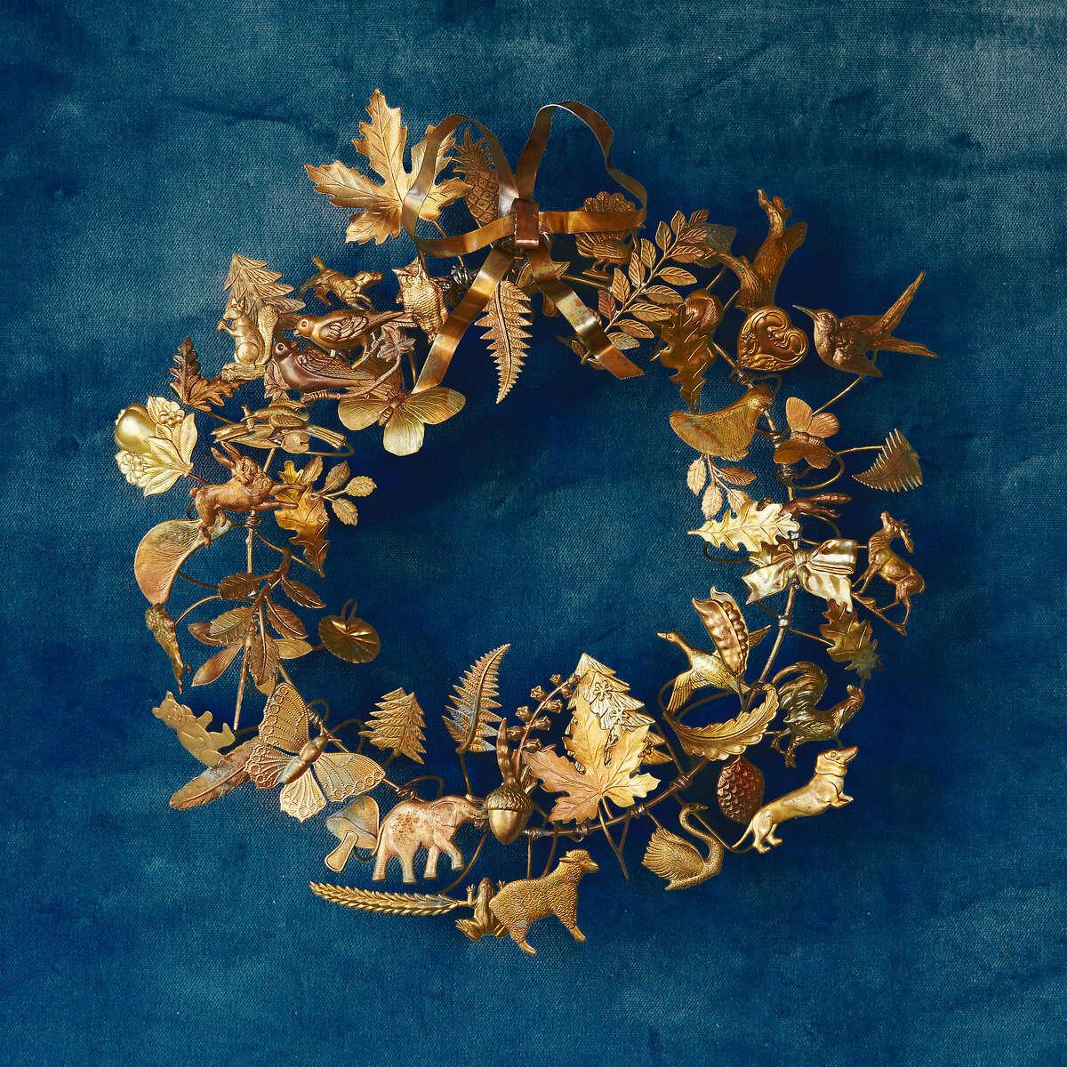 Dresden Ornament Wreath, shopterrain.com; $398