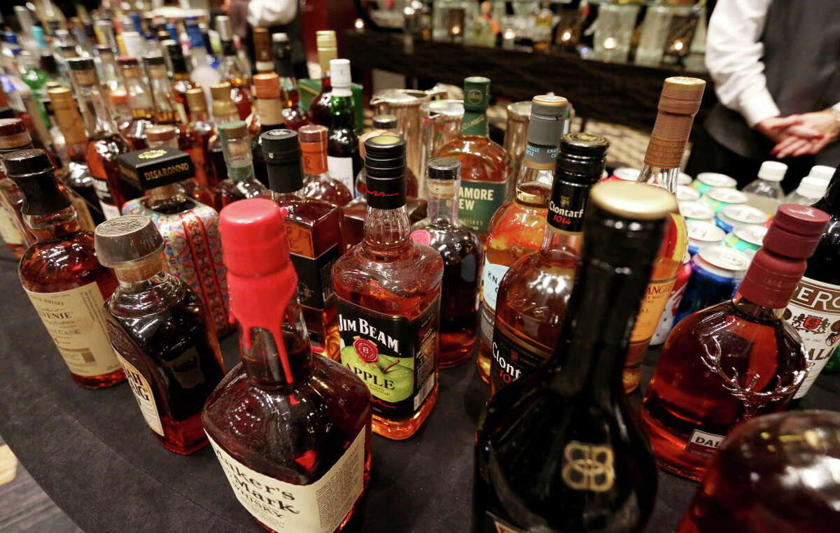 A wide selection of wines and liquor was on hand at Spec's Charitable Foundation Vintage Virtuoso Gala.