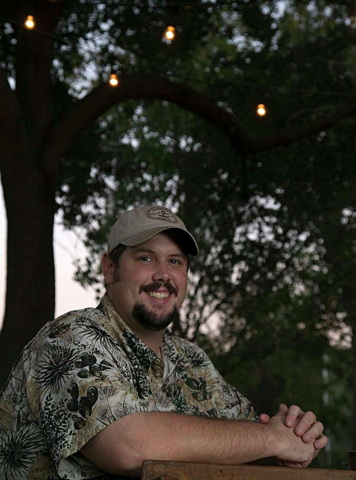Pinkerton's Barbecue owner Grant Pinkerton
