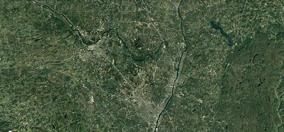 Google Earth's Timelapse feature shows how the Capital Region has changed. Here's an overview of the area from 1984, and you can see detailed development over the last 32 years in the photos ahead. Photo: Google Earth