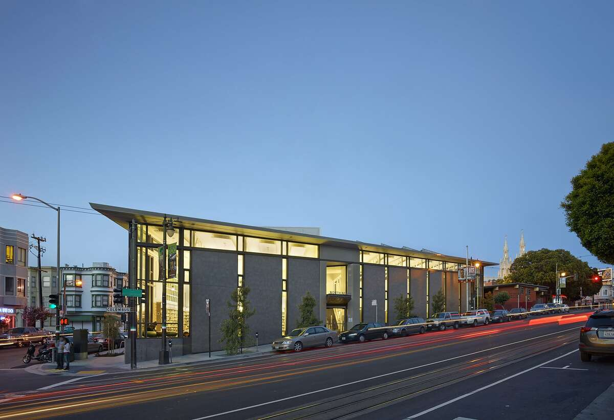 The North Beach branch library in San Francisco was designed by Leddy Maytum Stacy Architects, winner of the 2016 Architecture Firm Award from the American Institute of Awards.