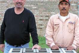 Let George Rood (left) or Jose Martinez replace rotting bricks, build a new fence or handle other brick work. Call George at 432-664-1341 or Jose at 432-770-4920. Estimates are free.