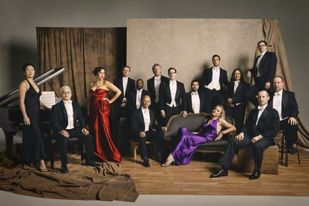 The Pink Martini Orchestra performs Friday, Dec. 17, in New Haven.