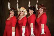 "Musicals at Richter presents ""The Mistletoes Take a Holiday"" at the Palace Danbury, Friday, Dec. 16, through Sunday, Dec. 18. The Mistletoes: Diana Matson, left, Priscilla Squiers, Lynn Paulella and Juliette Koch."