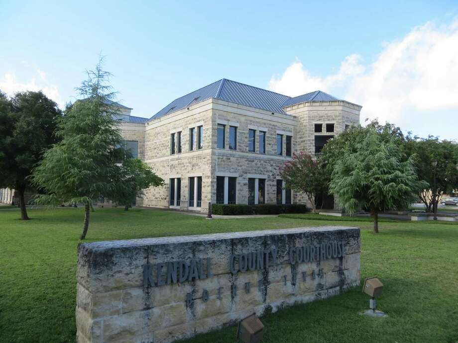 The Kendall County Courthouse in Boerne. County commissioners were told Monday that appeals court rulings have made parts of the county's development rules out of date. Photo: Zeke MacCormack /Staff