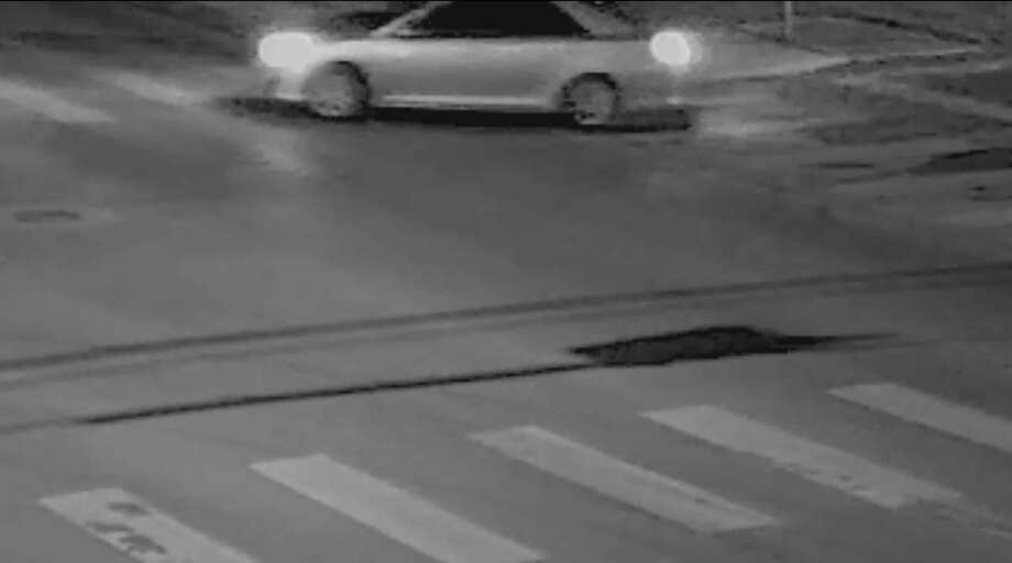 San Antonio police say that people in this vehicle were involved in a double shooting that resulted in one death on Sept. 13, 2016. The driver is described as a Hispanic male and he had two Hispanic female passengers. The car is described as a silver or gray Chrysler 200 or a Dodge Avenger. Photo: Courtesy San Antonio Police Department