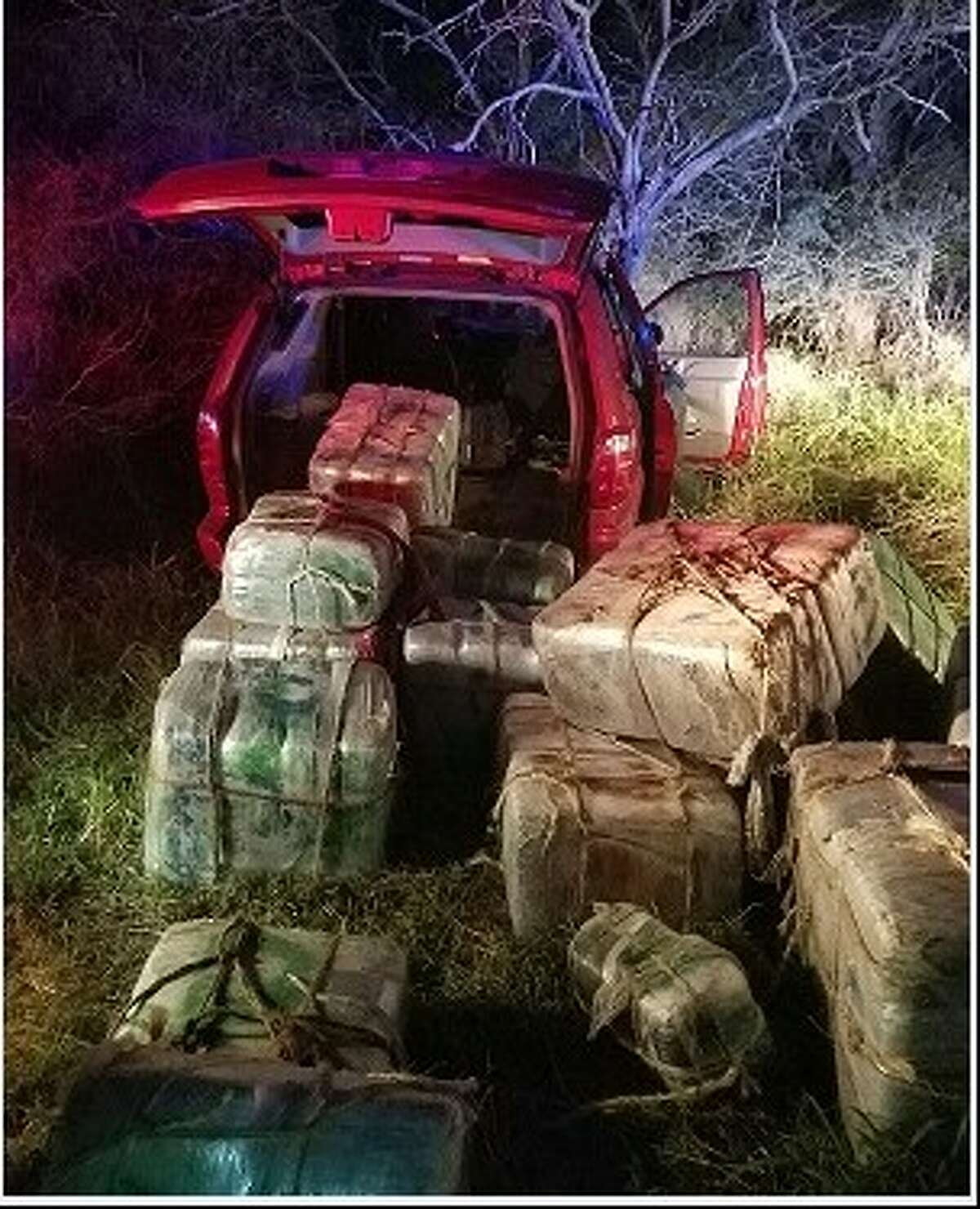 Rio Grande Valley Sector Border Patrol discovered 1,380 pounds of marijuana inside the vehicle, valued at over $1.1 million on Thursday Dec. 8, 2016.