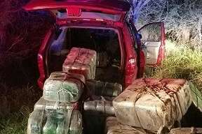 Rio Grande Valley Sector Border Patrol discovered 1,380 pounds of marijuana inside the vehicle, valued at over $1.1 million on Thursday Dec. 9, 2016.