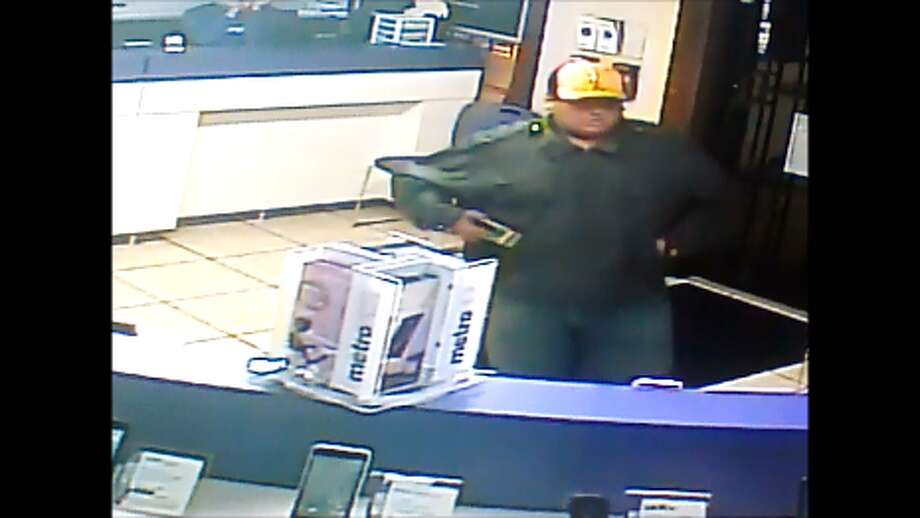LPD said the man pictured robbed a Metro PCS with a Taser on Dec. 3. Photo: Courtesy