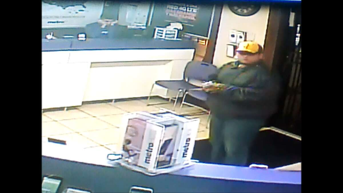 LPD said the man pictured robbed a Metro PCS with a Taser on Dec. 3.